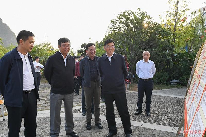 房灵敏到桂林市开展学习贯彻党的十九大精神专题调研