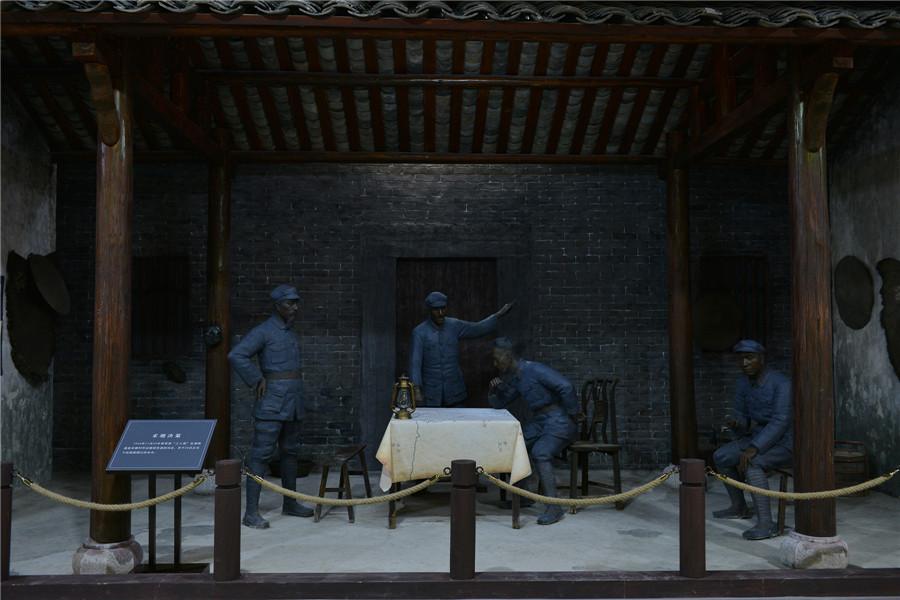 兵临湘江——大型声光电《湘江战役态势》影视模型