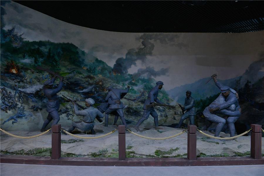抢渡湘江——《光华铺阻击战》场景