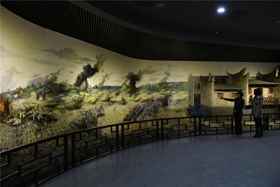 突破湘江——红三军团指挥所《三官堂》场景