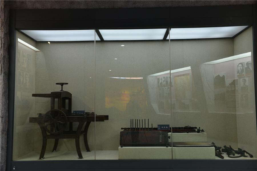 湘江战役实物展区