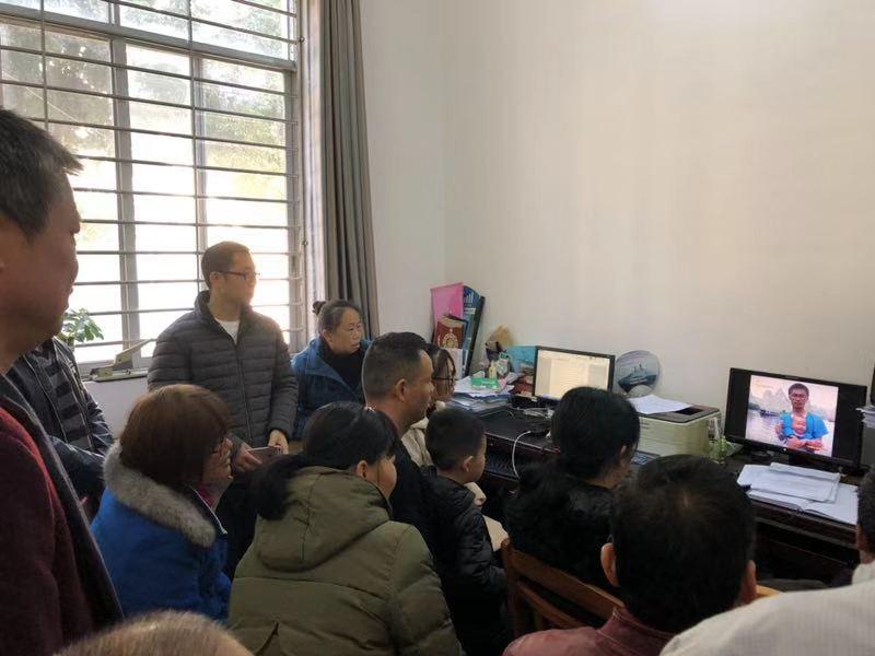 平乐县二塘镇收看报告会