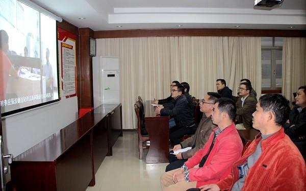 贵港:运用我区首例监察留置案开展警示教育
