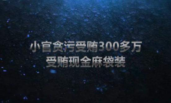 """【爱廉说第150期】层层设""""卡""""小官贪污受贿300多万"""
